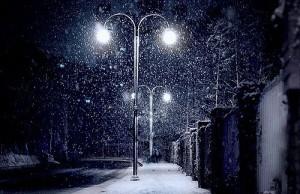evening-snow